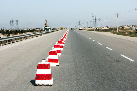 Fencing and repair of highway