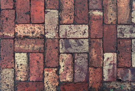 Brick pavement background Reklamní fotografie
