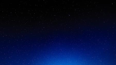Sfondo del cielo stellato notturno, universo