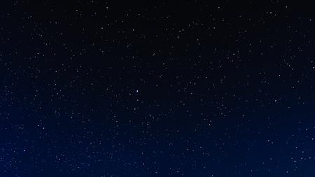 Fondo de cielo estrellado de noche, universo Foto de archivo