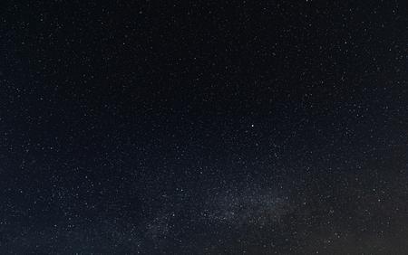 Night starry sky background, universe