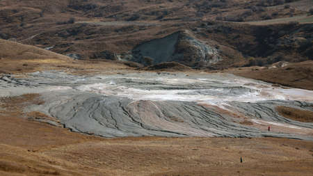 Bignest mud volcano in the highlands