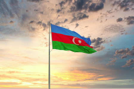 Flag of the Republic of Azerbaijan
