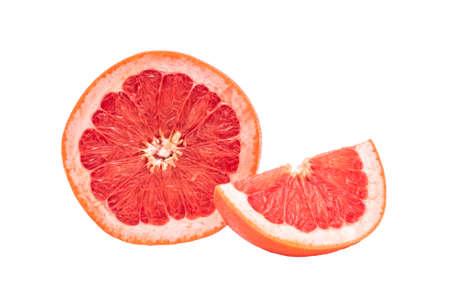 Grapefruit isolated on a white background Stock Photo