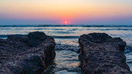 Sunrise on the seashore