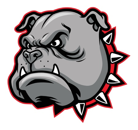 barking: bulldog mascotte