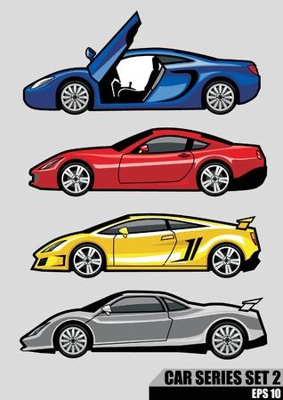 super car: cars series set 2
