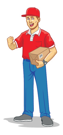 mailman: mailman delivery the package
