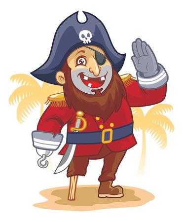 costume eye patch: Pirate salute