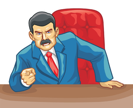 discontented: Angry Boss