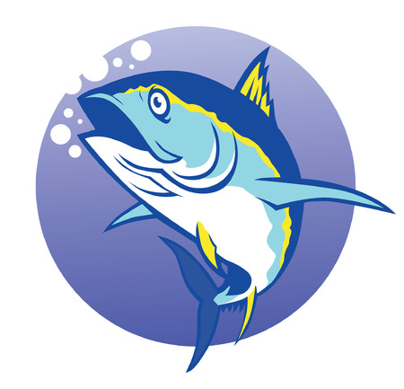 tuna fish: Tuna fish vector Illustration