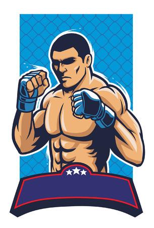MMA combattente