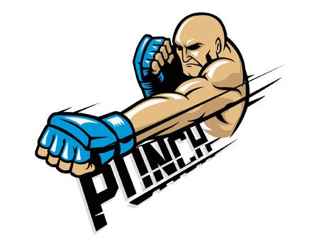 Martial artist icon.