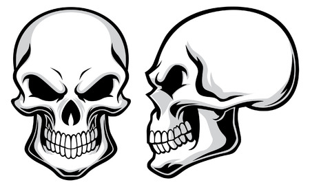 set of skull Stock Vector - 92925411
