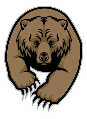 クマのマスコット  イラスト・ベクター素材