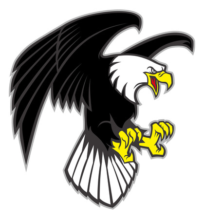 bald eagle mascot Stock fotó - 93803690