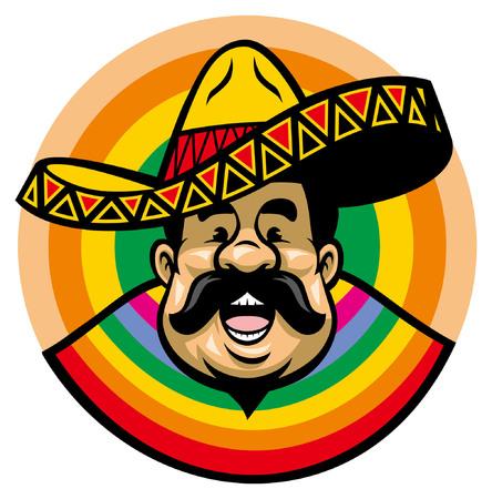 Mexican man wearing sombrero