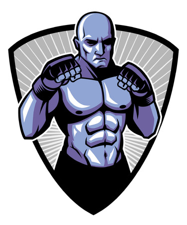 Man of MMA fighter