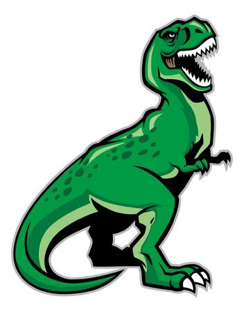 t-rex dinosaur 向量圖像