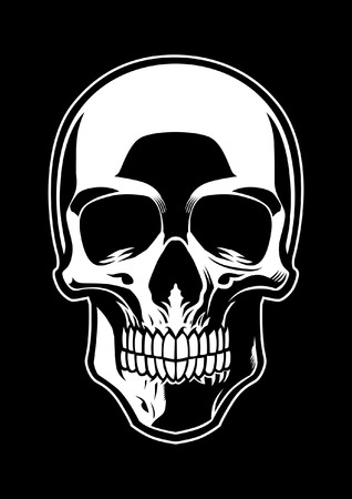 skull Stock Vector - 115323608