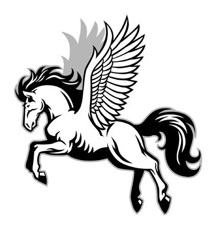 pegasus mascot