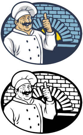 chef in smiling happy face Standard-Bild - 115323705