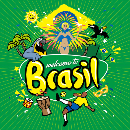 greeting series brasil Archivio Fotografico - 115323714