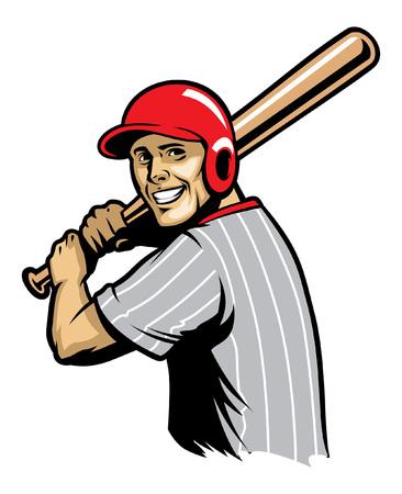 Retro Baseball ready to hit the ball