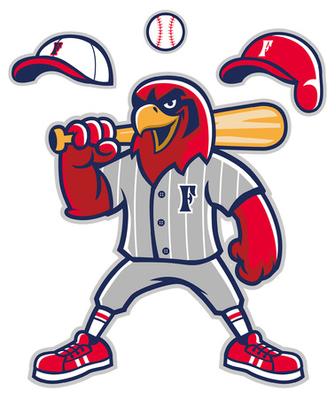 hawk mascot of baseball