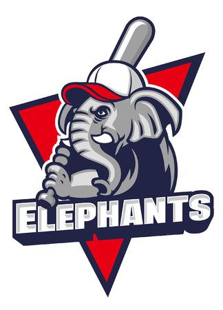 elephant mascot of baseball
