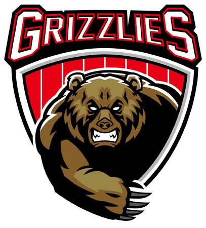 mascota del oso grizzly