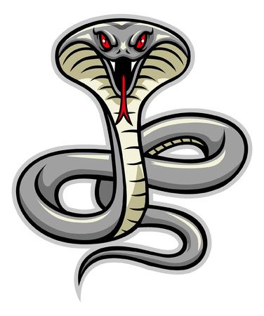 mascotte del serpente cobra