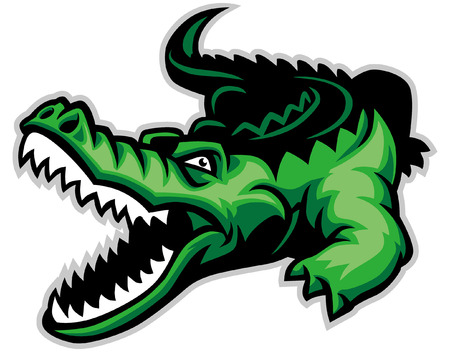 mascot of crocodile