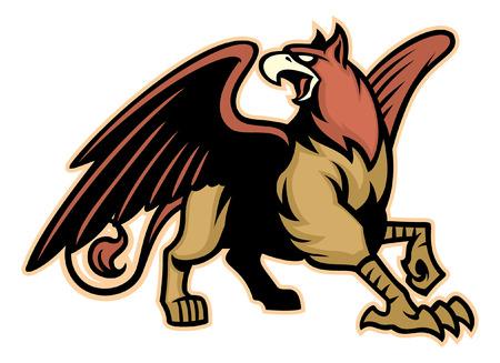 griffin mascot