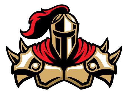 mascotte de chevalier