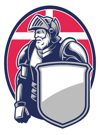 mascot of knight