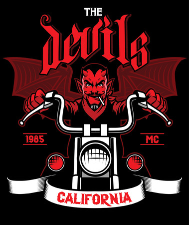 devil riding the motorcycle
