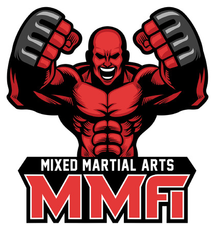 MMA fighter mascot