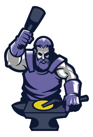mascot of blacksmith
