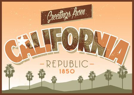 california greeting design