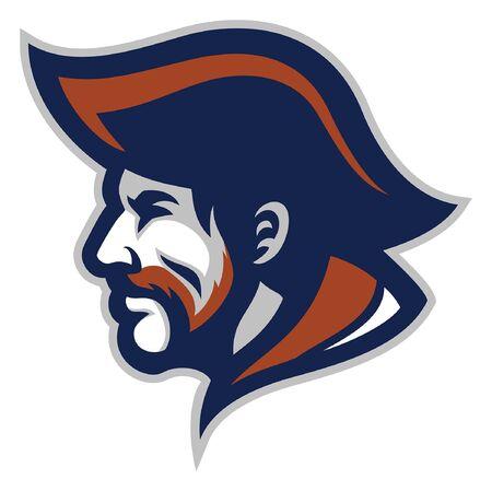 patriot mascot head