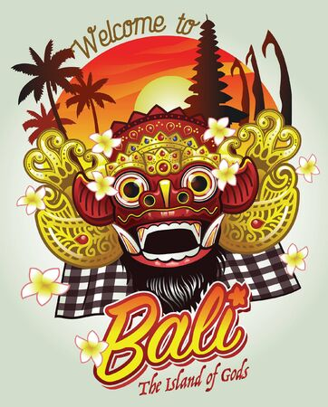bali barong greeting welcome