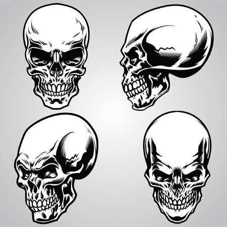 set of skull collection