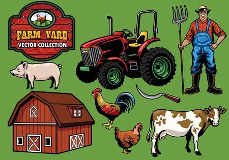 Farming objects set