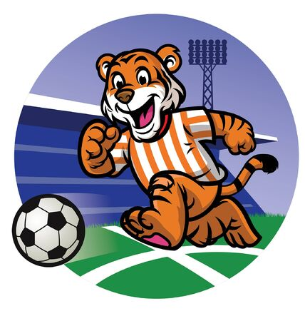 tiger cub soccer mascot