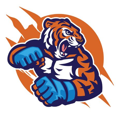 Tiger as MMA fighter