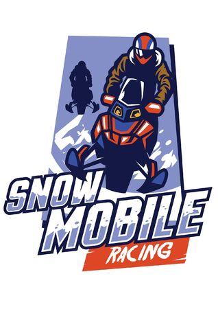 conception du concept de course de motoneige