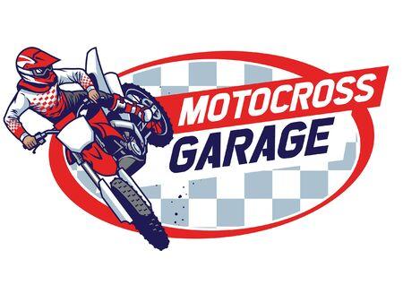 sign design of motorcycle garage