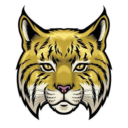 wildcat head mascot