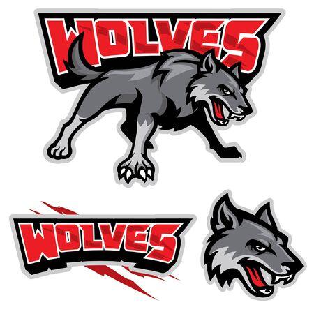 bundle of wolves cartoon